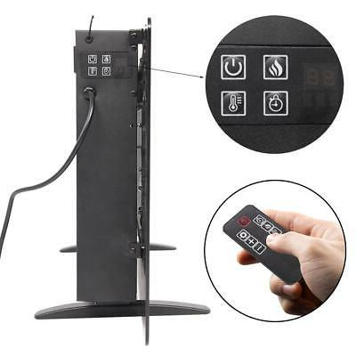 "1400W Wall Mount Freestanding 36"" Fireplace Remote"