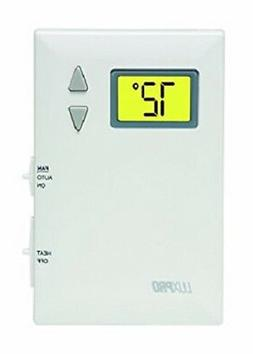 LuxPro PSD010BF Digital 2 Wire Heat Only Thermostat