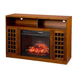 BOWERY HILL Infrared Electric Fireplace TV Stand