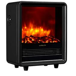 "PuraFlame 12"" Octavia Portable Electric Fireplace Heater, 15"