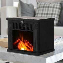 Portable Electric Fireplace Free Standing Tabletop Heater 10