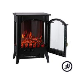 KOOLWOOM Portable Electric Fireplace Stove Heater with Therm