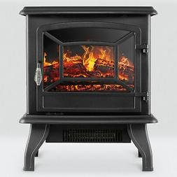Della© Portable Freestanding Electric Fireplace Stove w