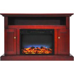 """Cambridge Sorrento Electric Fireplace Heater with 47"""" Entert"""
