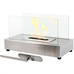 Sunnydaze El Fuego Tabletop Fireplace, Indoor Ventless Bio E