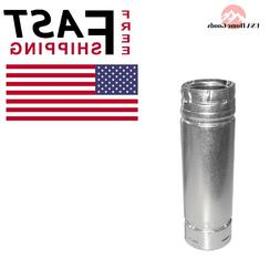 """Duravent 3"""" x 36"""" Stainless Straight Pipe"""