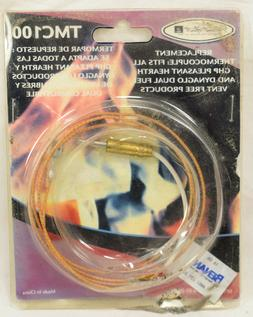 TMC100 Thermocouple for Pleasant Hearth Dynaglo Dual Fuel Ve