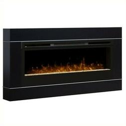 Bowery Hill Wall Mount Firebox Frame in Black
