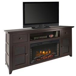 "Muskoka Winchester 56"" Media Electric Fireplace-Dark Walnut"