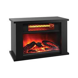LifeSmart ZCFP1014US Portable Fireplace Space Heater with Th